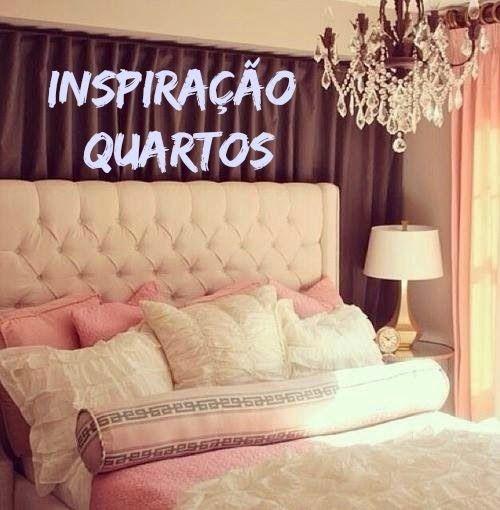 Inspiração: Quartos ♥    por Bruna Panizo   Moda Ativa       - http://modatrade.com.br/inspira-o-quartos-ao