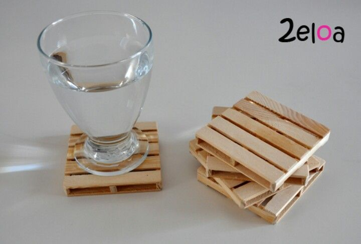 Porta vasos de madera diy crafts and decorati n - Manualidades con madera ...