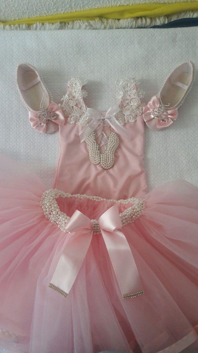 d8c6b20549 Bailarina regata luxo Roupa Ballet Infantil