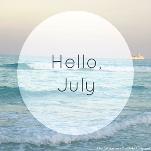 Hello July The Stylish One Hello July Hello July Images July Quotes Cute hello july wallpapers