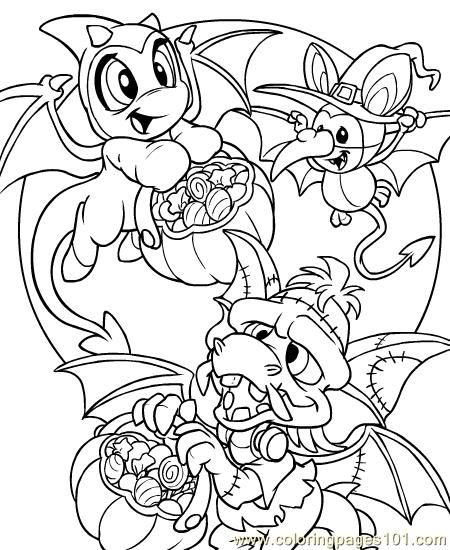 Neopets1 26 Coloring Page Colouring Pages Neopets Coloring Pages