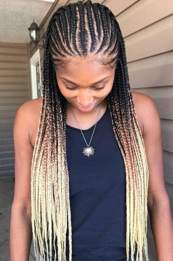 Top 10 Tribal Braids That Turn Heads Hair Styles Braided Hairdo Braided Hairstyles For Black Women