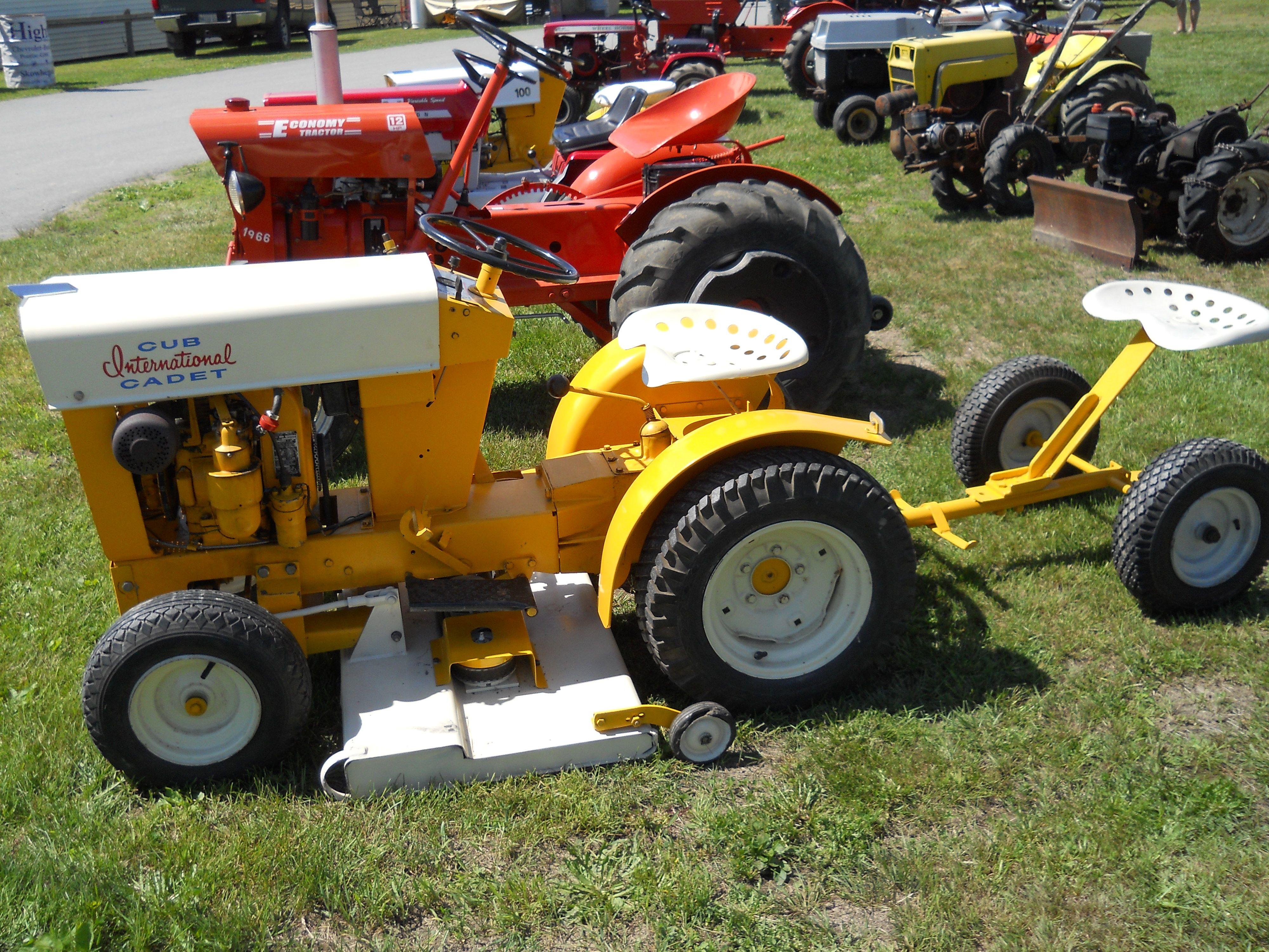 Old Cub Cadet Mowers : Cub international cadet garden tractors pinterest