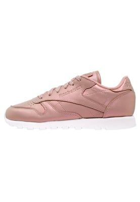 Classic Reebok Leather Baskets Basses Rose Pearlized pOzd8Oq
