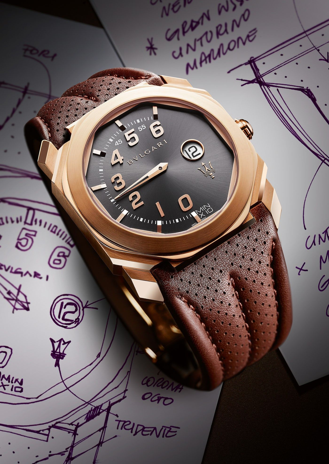 4b1e0ec6cd3 Introducing  The Bulgari Octo Maserati GranSport And GranLusso 고급 시계