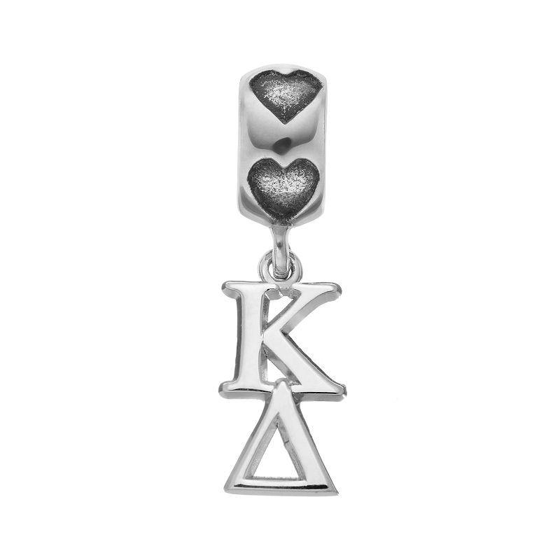 Logoart Sterling Silver Kappa Delta Sorority Charm Kappa Delta