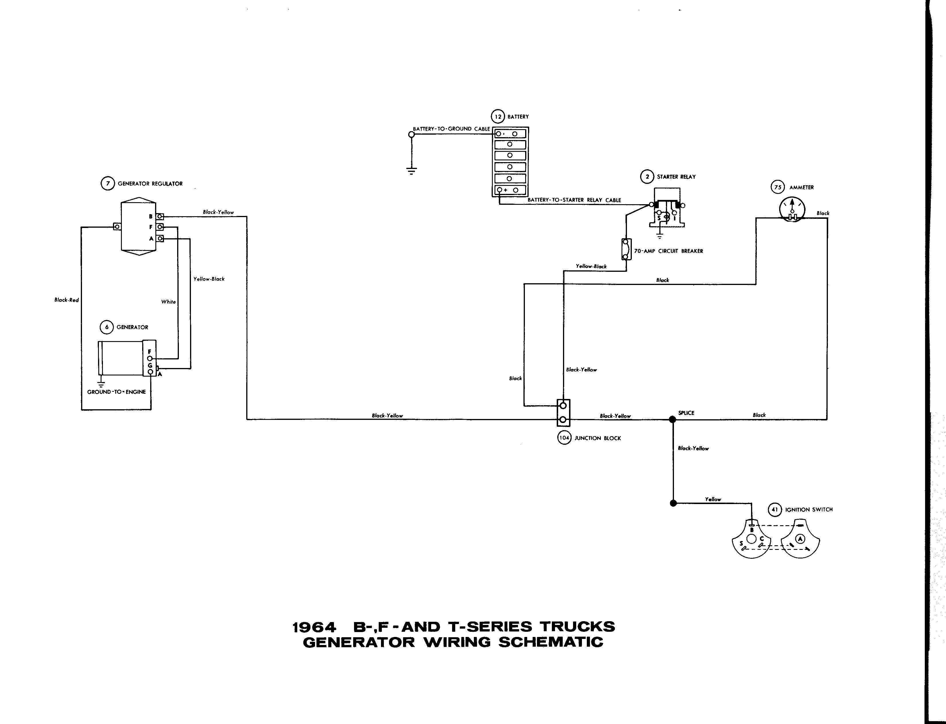 Alternator Starter Ignition Switch Wiring