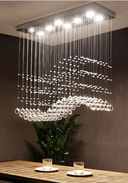 Crystal Ceiling Pendant Chandelier Ceiling Pendant Lights