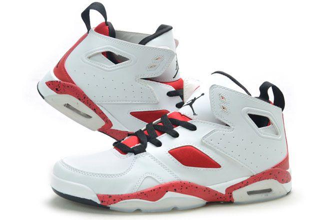 online store b7323 2b780 Nike Air Jordan Flight Club 91 White Gym Red Black Mens ...