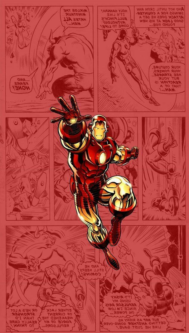 Iron Man Classic Comic Pinterest Marvel Marvel Comics And