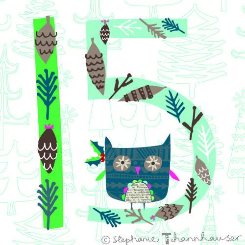 print & pattern Owl 15