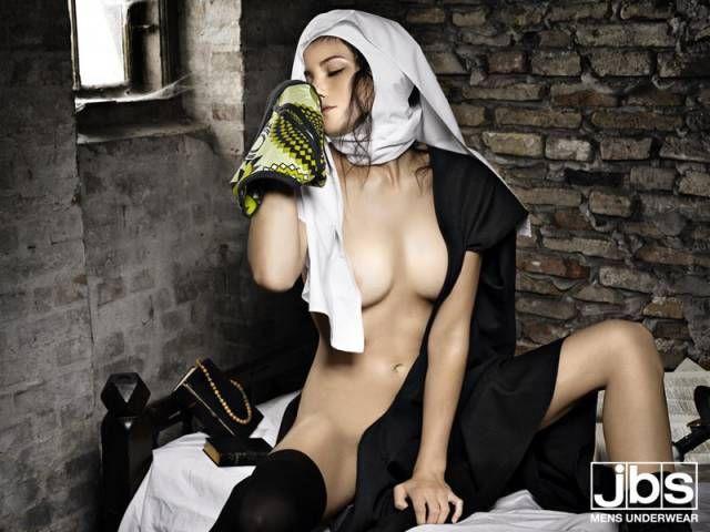: JBS Men's Underwear: Nun [NSFW] [image] | scaryideas.com