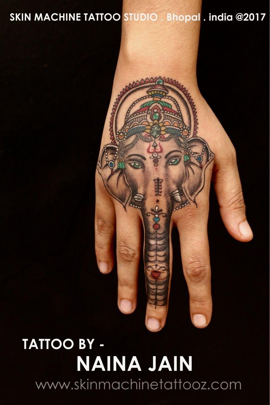 Lord Ganesha Tattoo By Naina Jain Ganesha Is The Lord Of Good Fortune Who Provides Prosperity Fortun Tatuajes Unicos Tatuaje Illuminati Tatuajes De Elefantes
