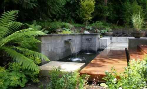 bassin d'eau design