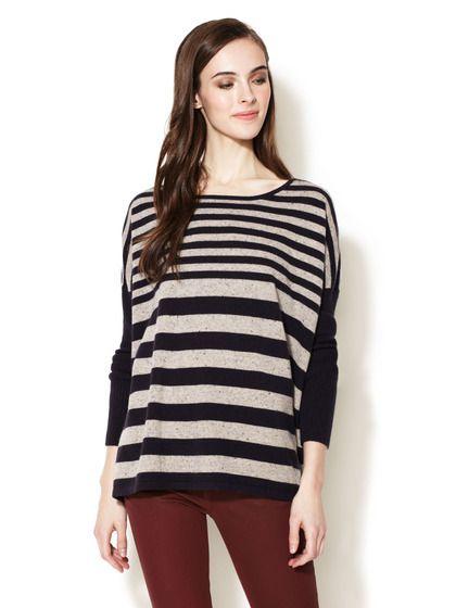 Design History Striped Cashmere Sweater | Cashmere ...
