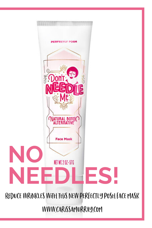 Don T Needle Me Perfectly Posh Diy Dry Skin Care Perfectly Posh Anti Aging