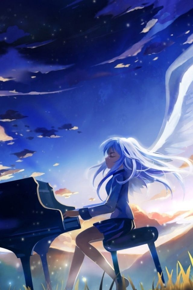 Anime Angel Beats Wallpapers For IPhone 4