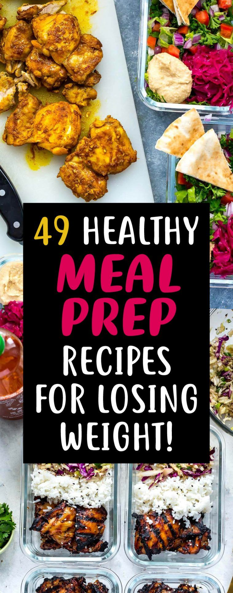 31 Meal Prep Recipes Perfect For Quick Easy Meals To Lose Fat Fast! images
