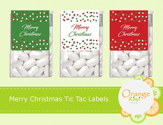 merry christmas tic tac labels christmas tic tac stickers merry