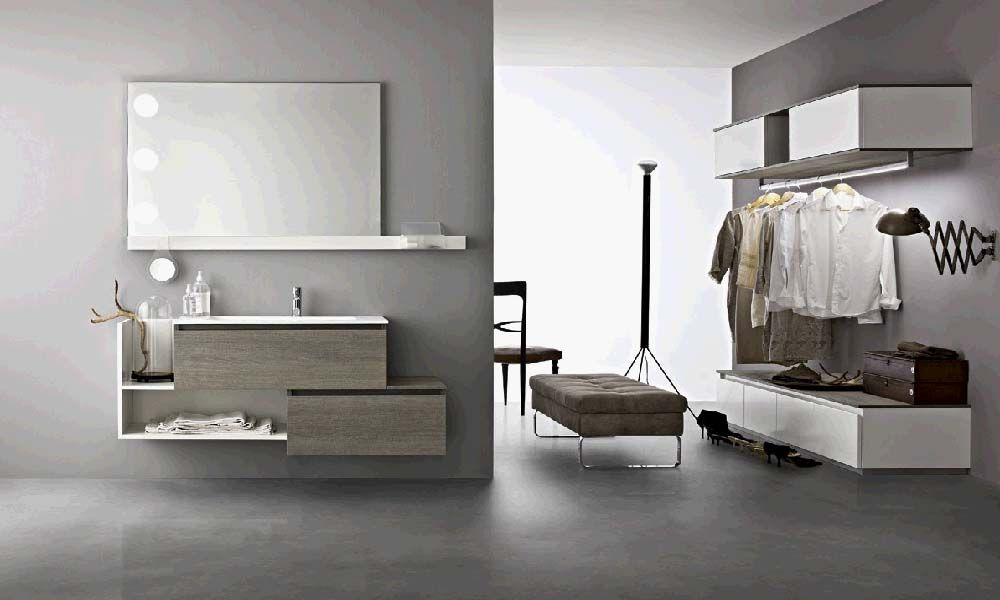 bagno moderno minimale cerasa | bagno arredamento | pinterest - Arredo Bagno Giussano