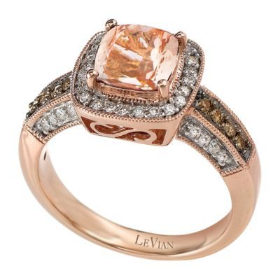 f707826231ab3 Le Vian 14ct Strawberry Gold® and Peach Morganite® ring - Ernest ...