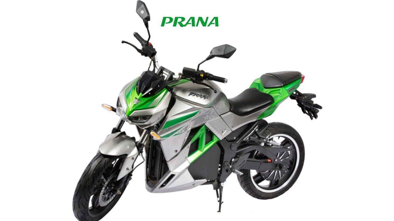 Prana Electric Bike With A Maximum Range Of 250km In 2020 Electric Bike Bike Electric Scooter