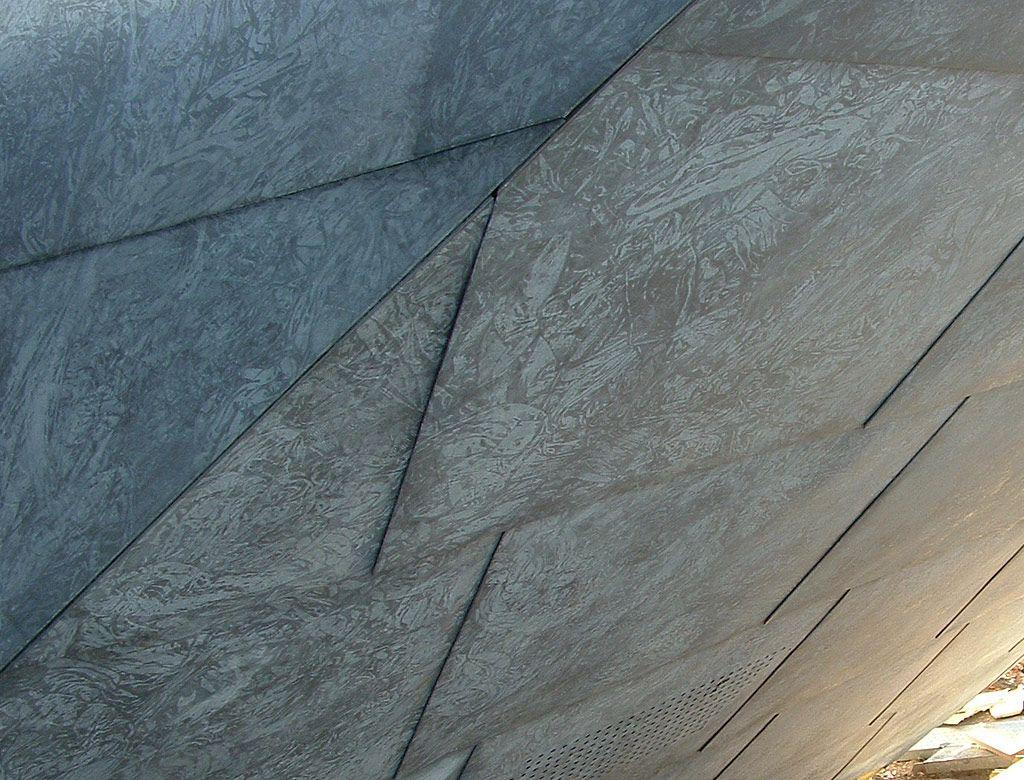 Hunter Patina Panels Facade Pinterest Zinc Cladding