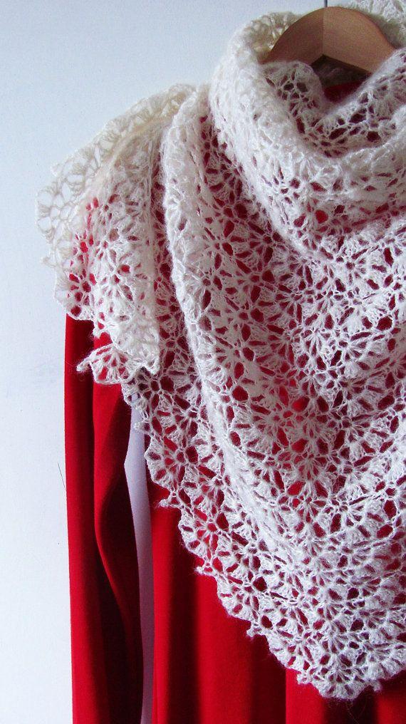Swan Lake Shawl PDF Crochet Pattern | tejido | Pinterest | Tejido ...