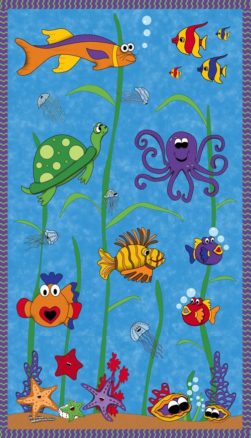 Under the Sea   Quilting- quilts, quilts, and more beautiful ... : under the sea quilt - Adamdwight.com