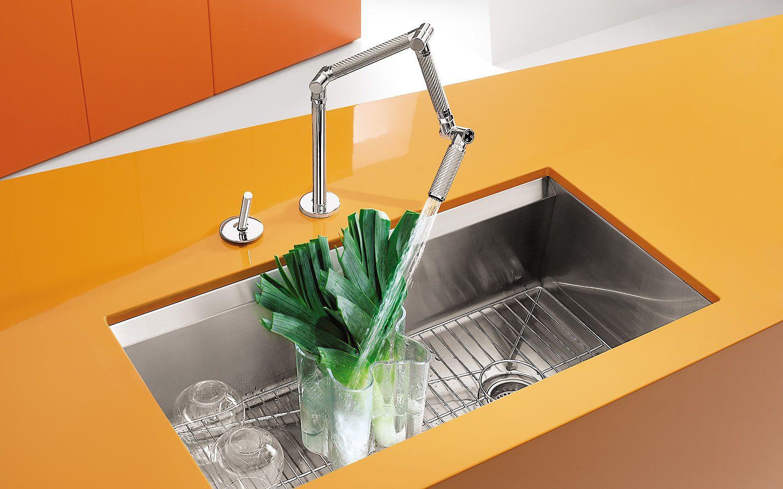 Un robinet aussi pratique que ludique karbon par jacob delafon robinetterie pour tous - Robinetterie cuisine jacob delafon ...