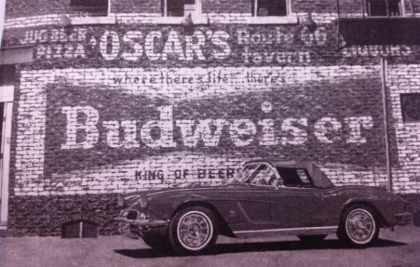 vintage mural