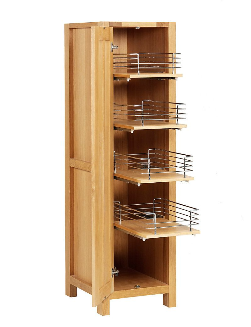 Marks And Spencer Kitchen Furniture Sonoma Light Kitchen Pull Out Larder Unit Ms Freestanding