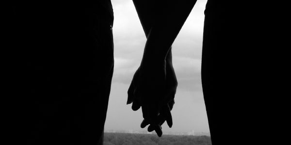 Lesbians Holding Hands Lesbian Couple Forced Out Of Church For Holding Hands In The Pews Hand Silhouette Girls Holding Hands Holding Hands