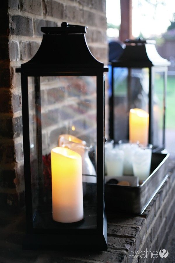 Qvc Flameless Candles Stunning QVC Luminara Wickless Candle Lanterns One Day Sale Exterior