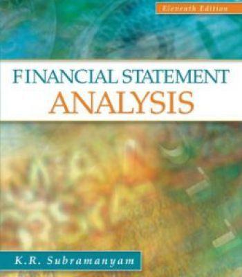 Financial Statement Analysis 11th Edition PDF Economics - statement analysis