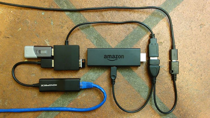 Believe It Or Not The Setup You See In The Above Picture Works The Amazon Fire Tv Stick 2 Supports Otg U Fire Tv Stick Amazon Fire Stick Amazon Fire Tv Stick