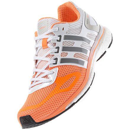 quality products purchase cheap san francisco adizero Adios Boost Schuh, Glow Orange / Neo Iron Metallic ...
