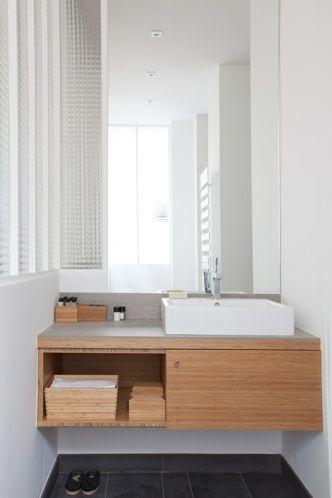 loft d architecte atelier premier etage Salle d\u0027eau Pinterest
