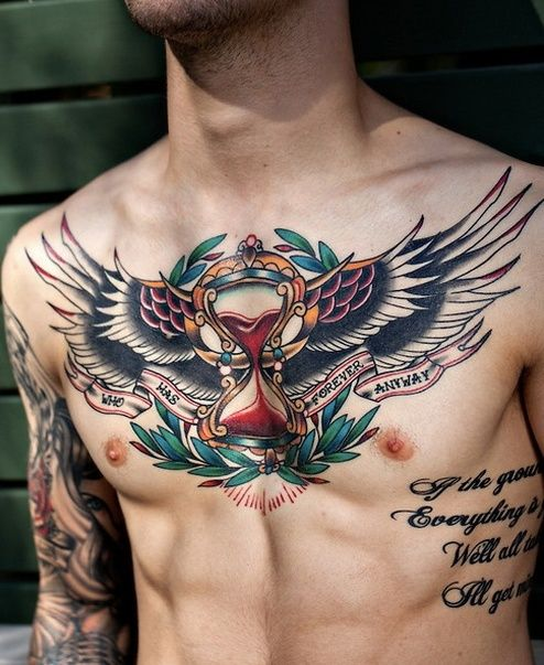 What necessary Boob tattoo flaming heart phrase