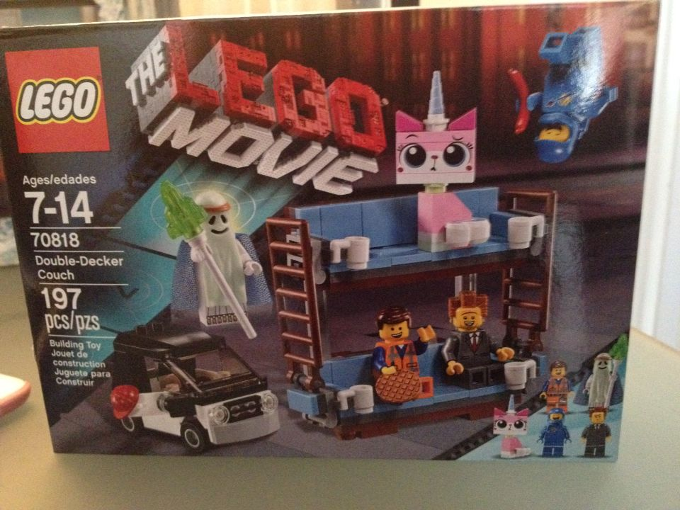 Newest lego movie set, the double decker couch. When it was first ...
