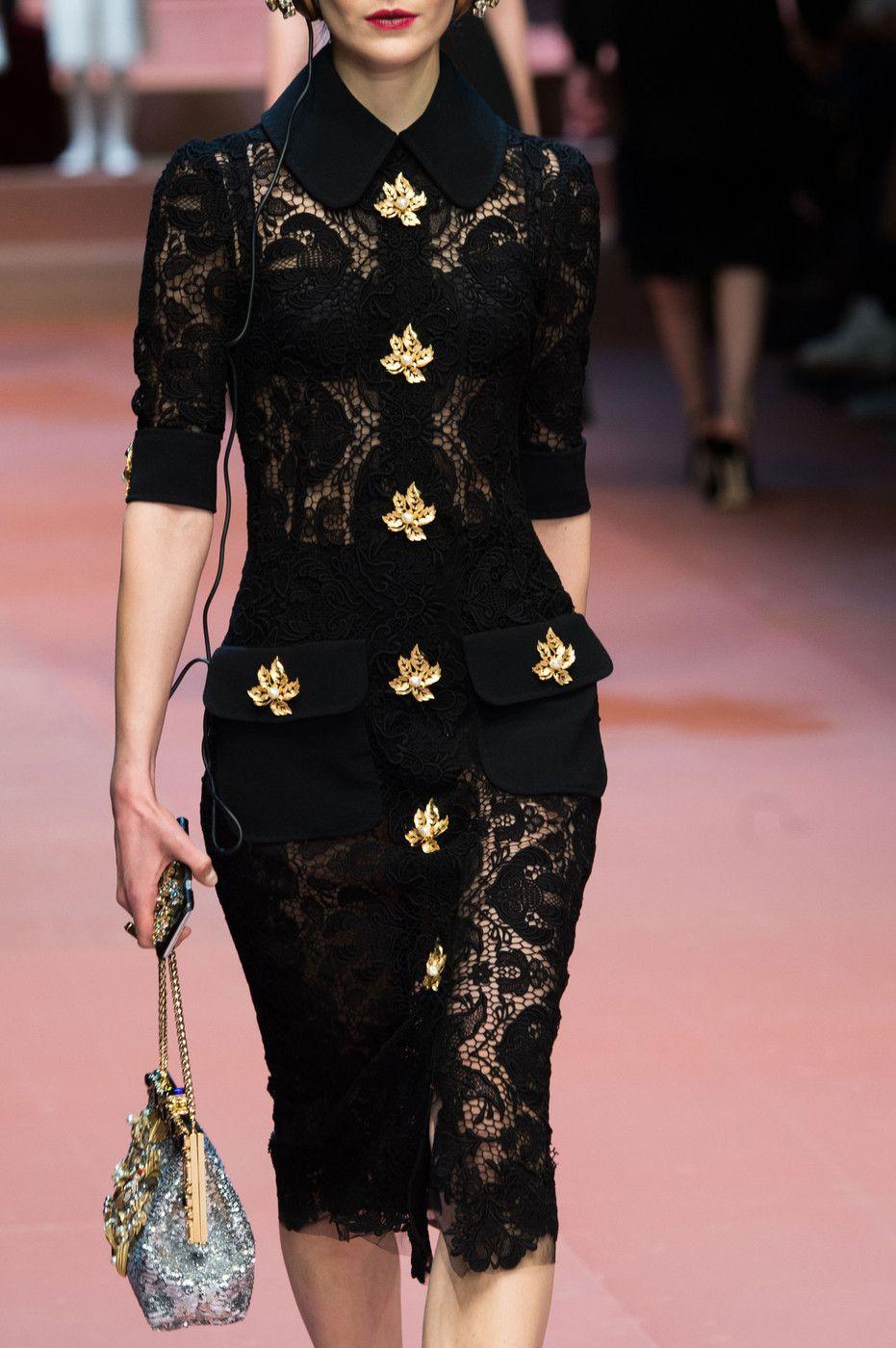 Dolce &Gabbana Fall 2015 Ready-to-Wear