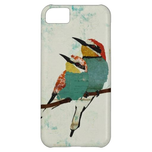 Two Little Birds iPhone Case iPhone 5C Cases