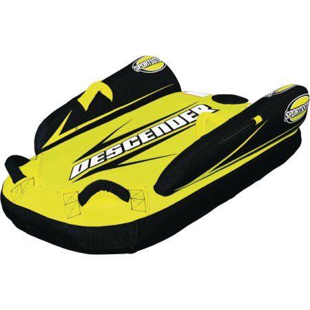 Sporsstuff 30-2000 Descender Single Rider Snow Tube/Sled, Multicolor