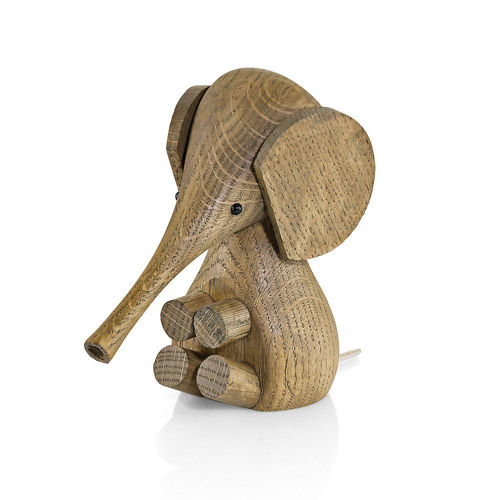 Lucie Kaas elefant røykt eik | Ting