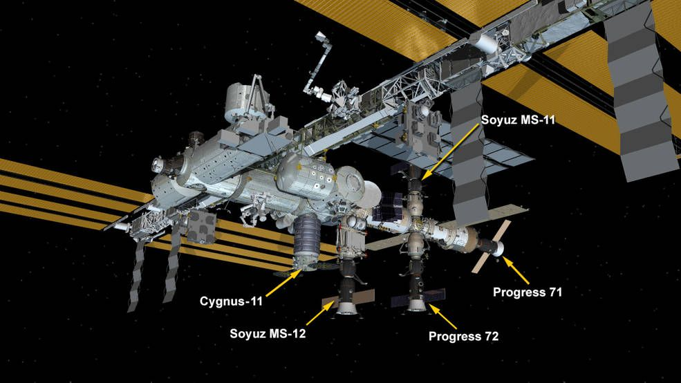 Cygnus Cargo Craft Attached To Station Until July Space Station Nasa Space Station Space Station Space Nasa