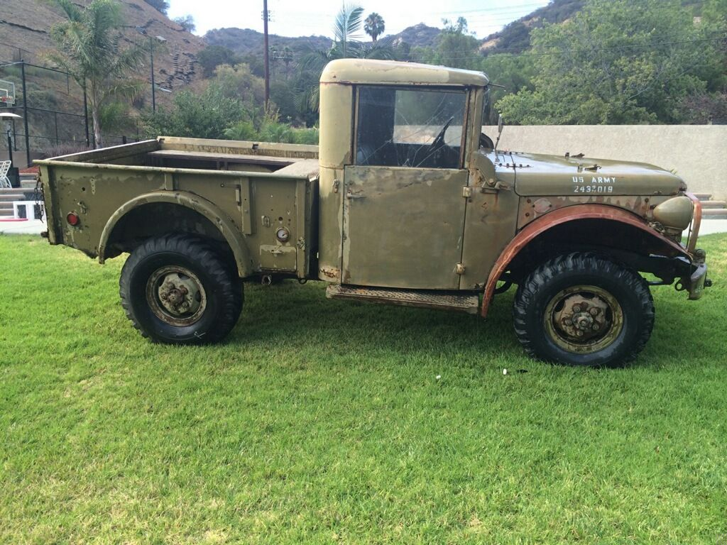 1952 Dodge M37 US Army Power Wagon  Runs great…new water