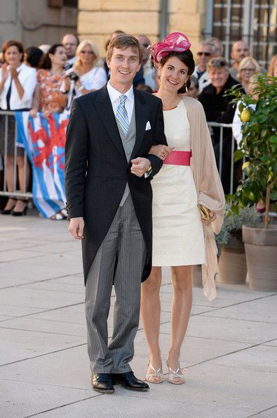 Archduke Christophe and Archduchess Adelaide attend the Religious Wedding Of Prince Felix Of Luxembourg & Claire Lademacher at the Basilique Sainte Marie-Madeleine on September 21, 2013 in Saint-Maximin-La-Sainte-Baume, France.