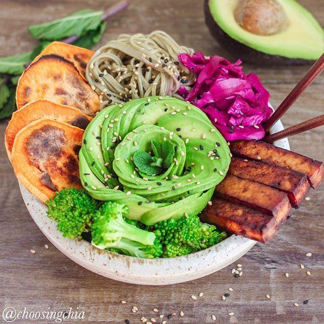 gesundes abendessen buddha bowl pinterest vegetarisch gesund und ern hrung. Black Bedroom Furniture Sets. Home Design Ideas