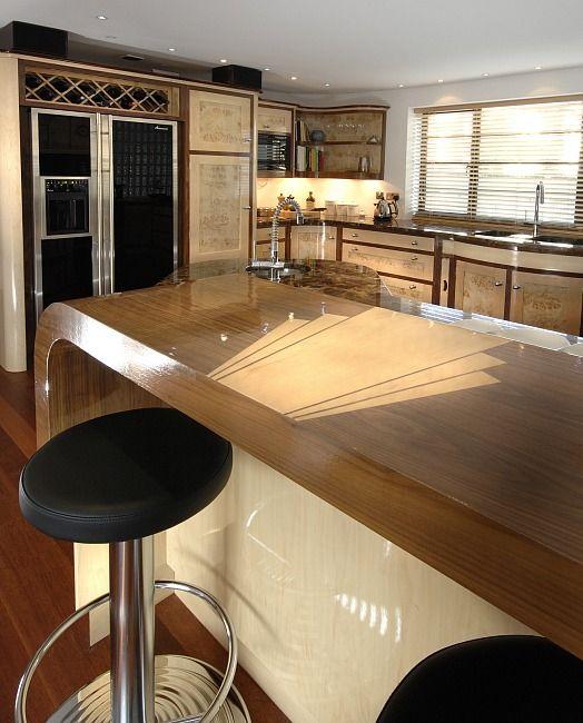 Modern Art Deco Kitchen Design