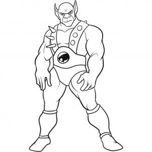 thundercats coloring pages 08 - Thunder Cats Coloring Book Pages